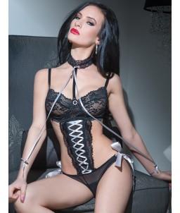 Sextoys, sexshop, loveshop, lingerie sexy : Bodys & Teddys : Body sexy dentelle S/L