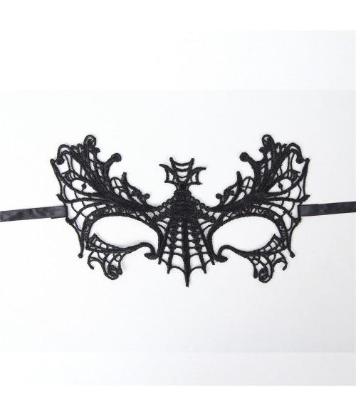 Sextoys, sexshop, loveshop, lingerie sexy : Masques : Masque sexy butterfly dentelle noir