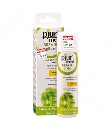 Sextoys, sexshop, loveshop, lingerie sexy : Lubrifiants à Base d'Eau : Pjur med Repair glide 100ml