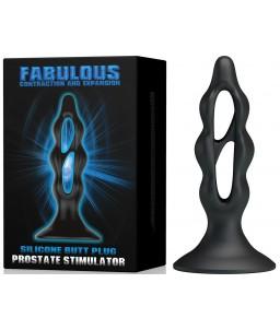 Sextoys, sexshop, loveshop, lingerie sexy : Plug Anal : Fabulous Plug anal en silicone noir