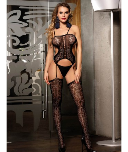 Sextoys, sexshop, loveshop, lingerie sexy : Combinaisons : Combinaison sexy résille noire style body