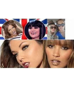Sextoys, sexshop, loveshop, lingerie sexy : Sticker Pour Lèvres-Lip Sticker : Sticker Pour Lèvres - Lips Sticker Rose Etoile