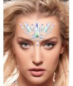 Sextoys, sexshop, loveshop, lingerie sexy : Accessoires Soirée Coquine : Bijoux cristal pour le visage Swan Lake