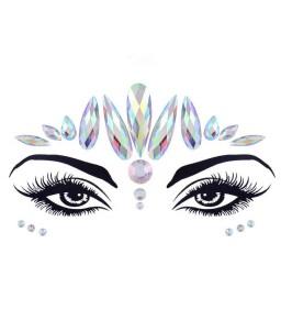 Sextoys, sexshop, loveshop, lingerie sexy : Accessoires Soirée Coquine : Bijoux cristal pour le visage Crown