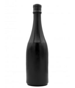 Sextoys, sexshop, loveshop, lingerie sexy : Gode XXL : Gode xxl All Black bouteille de champagne 34 cm