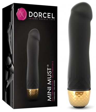 Sextoys, sexshop, loveshop, lingerie sexy : Sextoys luxe : Vibromasseur Dorcel mini must gold
