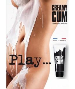Sextoys, sexshop, loveshop, lingerie sexy : Lubrifiant Anal : Creamy lubrifiant effet faux sperme 70ML