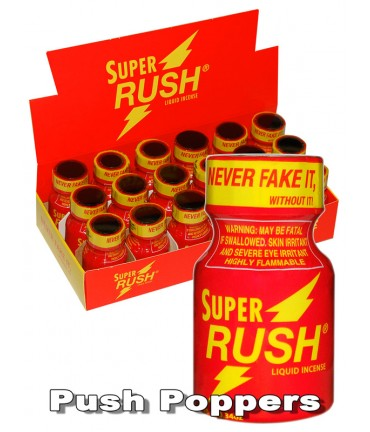 Sextoys, sexshop, loveshop, lingerie sexy : Poppers : Poppers Super RUSH 10ml