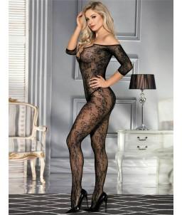 Sextoys, sexshop, loveshop, lingerie sexy : Combinaisons : Combinaison résille noire sexy
