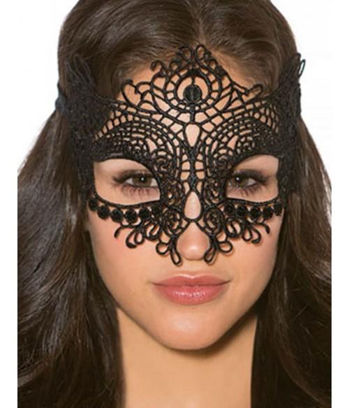 Sextoys, sexshop, loveshop, lingerie sexy : Masques : Masque noir sexy dentelle 80608
