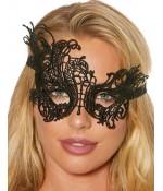 Sextoys, sexshop, loveshop, lingerie sexy : Masques : Masque noir sexy dentelle 80570