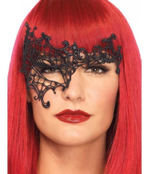 Sextoys, sexshop, loveshop, lingerie sexy : Masques : Masque noir sexy dentelle 80581