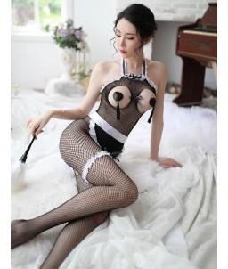 Sextoys, sexshop, loveshop, lingerie sexy : Deguisement Femme sexy : Costume combinaison sexy soubrette