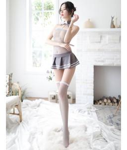 Sextoys, sexshop, loveshop, lingerie sexy : Deguisement Femme sexy : Costume Etudiante sexy S/M