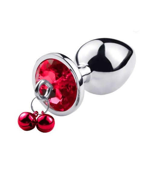 Sextoys, sexshop, loveshop, lingerie sexy : Rosebud - bijou anal : Rosebud avec perle SMALL Rouge