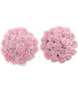 Sextoys, sexshop, loveshop, lingerie sexy : Nippies Cache Seins : Nippies ronds adhésifs bouquet de roses de couleur rose