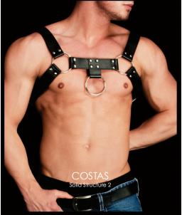 Sextoys, sexshop, loveshop, lingerie sexy : Harnais bdsm : Harnais homme BDSM avec boucle