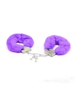 Sextoys, sexshop, loveshop, lingerie sexy : Menottes BDSM : Menottes violettes