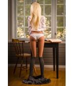 Sextoys, sexshop, loveshop, lingerie sexy : Sexdoll poupée silicone : Sexdoll poupée silicone 158cm - Elena