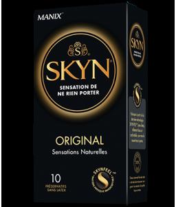 Sextoys, sexshop, loveshop, lingerie sexy : Préservatifs : Préservatifs MANIX SKYN ORIGINAL X10 sans latex