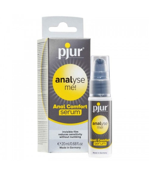 Sextoys, sexshop, loveshop, lingerie sexy : Lubrifiants : Pjur Analyse me serum confort