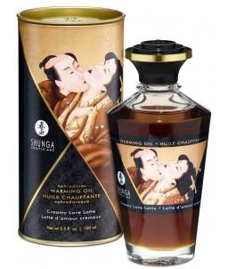 Sextoys, sexshop, loveshop, lingerie sexy : Huiles de Massage : Shunga Huile Aphrodisiaque Baisers Intimes - Latté d'amour cr...