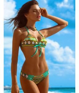 Sextoys, sexshop, loveshop, lingerie sexy : Lingerie sexy grande taille : Sexy Bikini Multicouleur vert XL