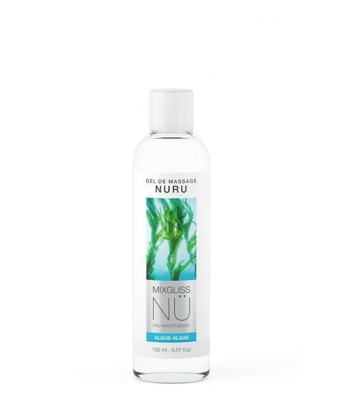 Sextoys, sexshop, loveshop, lingerie sexy : Massage Nuru : Mixgliss - Gel de massage nuru Algue 150 ml