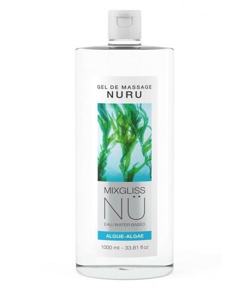 Sextoys, sexshop, loveshop, lingerie sexy : Massage Nuru : Mixgliss - Gel de massage nuru algue 1L