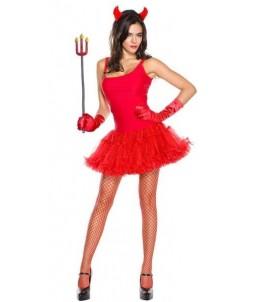 Sextoys, sexshop, loveshop, lingerie sexy : Deguisement Femme sexy : Costume Sexy Diablesse Rouge M