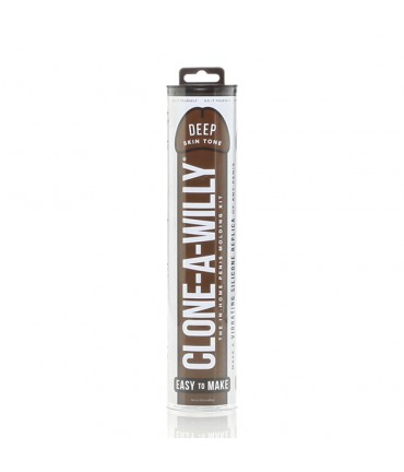 Sextoys, sexshop, loveshop, lingerie sexy : Moulages Intimes : Clone a Willy - Deep Skin Tone - Peau Mate