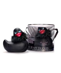 Sextoys, sexshop, loveshop, lingerie sexy : Vibro Waterproof : Canard Vibrant Paris Black Duckie