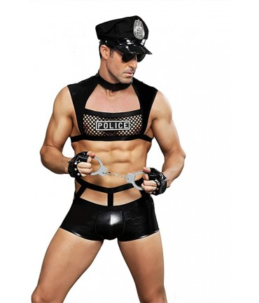 Sextoys, sexshop, loveshop, lingerie sexy : Costumes Homme : Costume policier homme sexy Ouvert