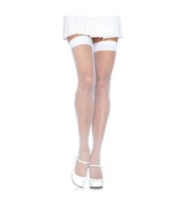 Sextoys, sexshop, loveshop, lingerie sexy : Bas & Collants : Leg avenue- Sexy Bas Résille Blanc