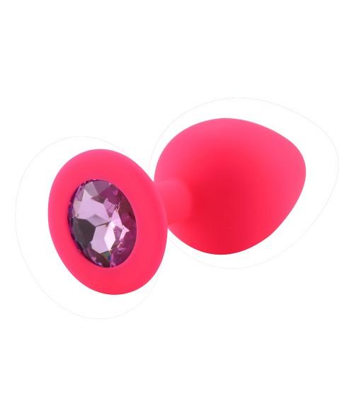 Sextoys, sexshop, loveshop, lingerie sexy : Rosebud - bijou anal : Rosebud silicone rose bijou rose clair Medium