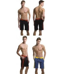 Sextoys, sexshop, loveshop, lingerie sexy : Boxers & Strings : Sexy Short Long Bordeaux Taille XL
