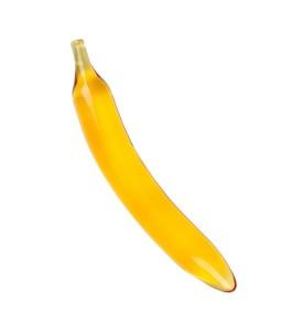 Sextoys, sexshop, loveshop, lingerie sexy : Gode en Verre : Godemichet en Verre Forme Banane