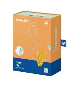 Sextoys, sexshop, loveshop, lingerie sexy : Stimulateur Clitoris : Satisfyer - finger vibrator Jaune
