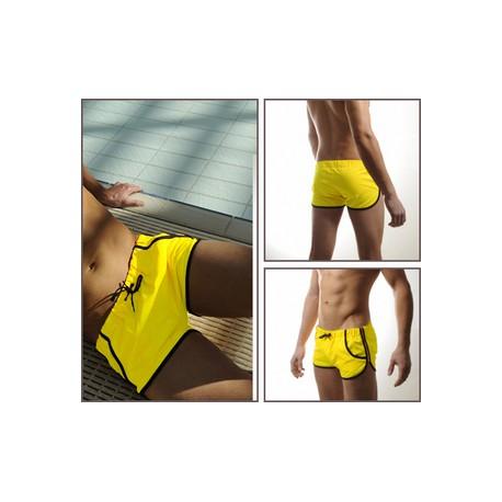 Sextoys, sexshop, loveshop, lingerie sexy : Maillot de Bain Sexy : Maillot de Bain Sexy Jaune en Polyester TAILLE XL
