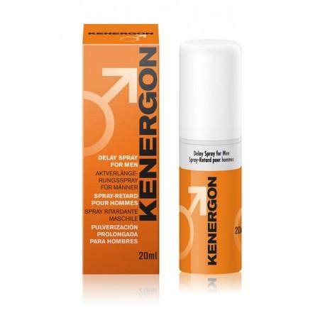 Sextoys, sexshop, loveshop, lingerie sexy : Aphrodisiaques : Spray Retardant KENERGON SPRAY 20ml