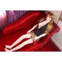 Sextoys, sexshop, loveshop, lingerie sexy : Sexdoll poupée silicone : Sexdoll poupée moulée 150cm Ines