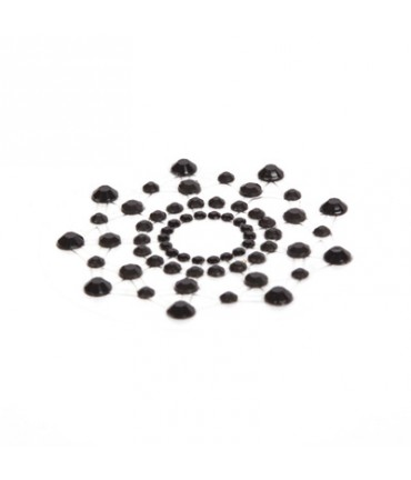 Sextoys, sexshop, loveshop, lingerie sexy : Nippies Cache Seins : Nippies Cache tétons en faux diamants NOIR