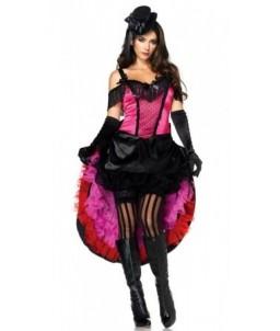 Sextoys, sexshop, loveshop, lingerie sexy : Deguisement Femme sexy : Costume Sexy Cabaret Long