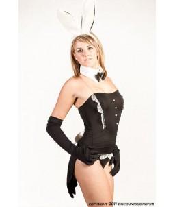 Sextoys, sexshop, loveshop, lingerie sexy : Deguisement Femme sexy : Costume Sexy Bunny Noir