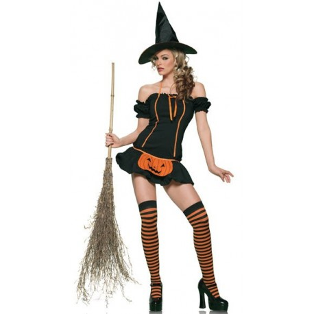 Sextoys, sexshop, loveshop, lingerie sexy : Deguisement Femme sexy : Costume Sorcière Halloween