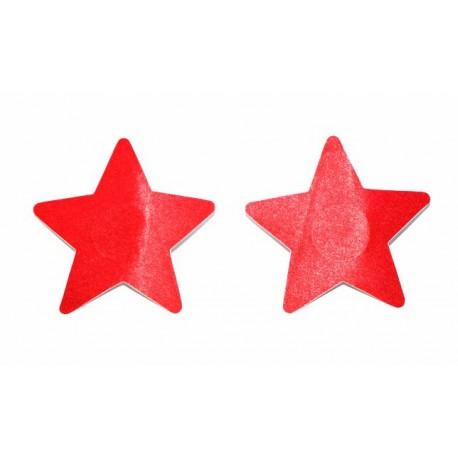 Sextoys, sexshop, loveshop, lingerie sexy : Nippies Cache Seins : Cache tétons nippies étoile rouge